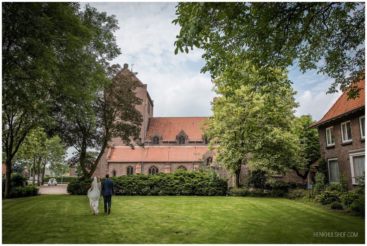 trouwen kerk Haalderen