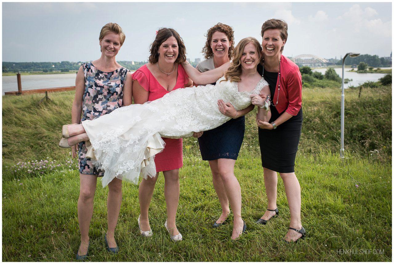 groepsfoto bruiloft