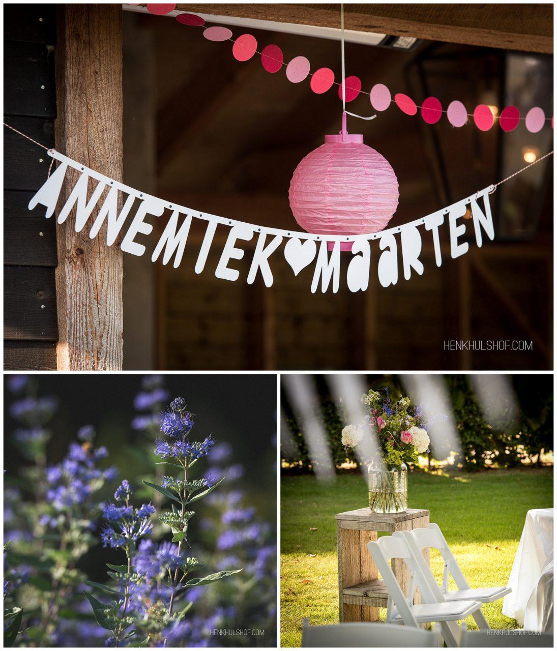 huwelijk Maarten en Annemiek
