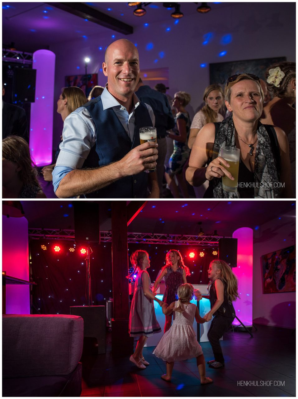 trouwen party disco Brummen