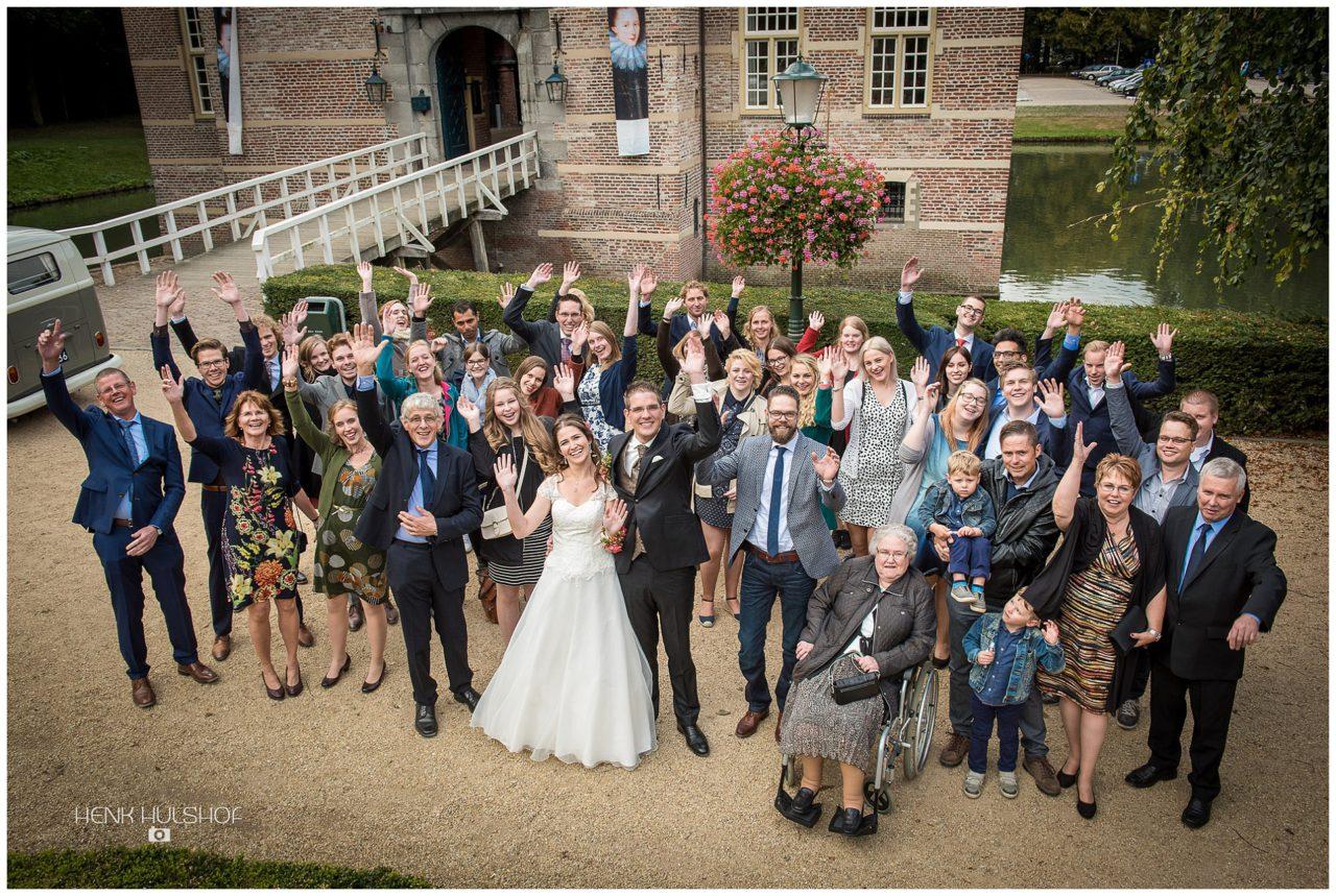 groepsfoto kasteel Wijchen