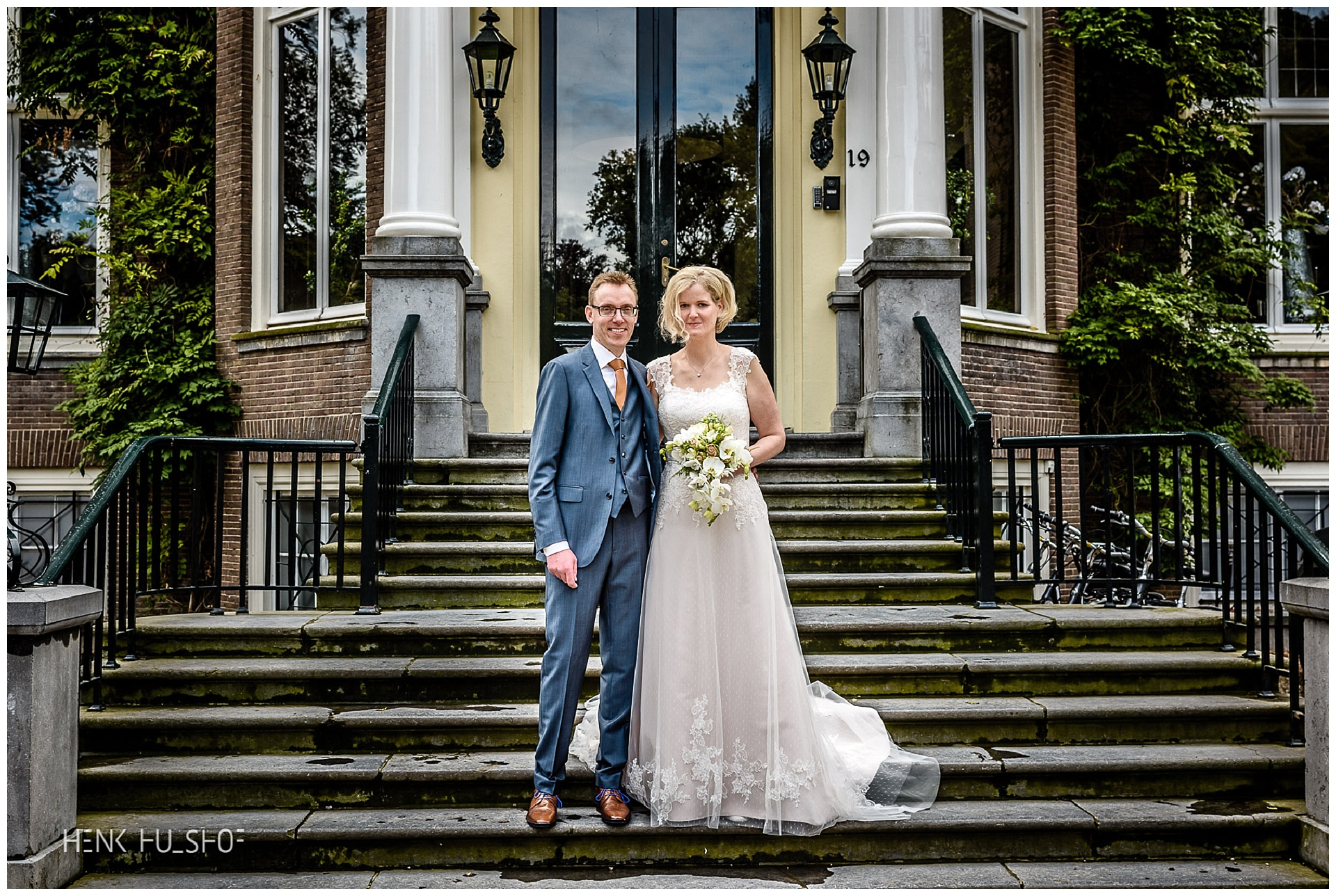 bruidspaar Rhederoord