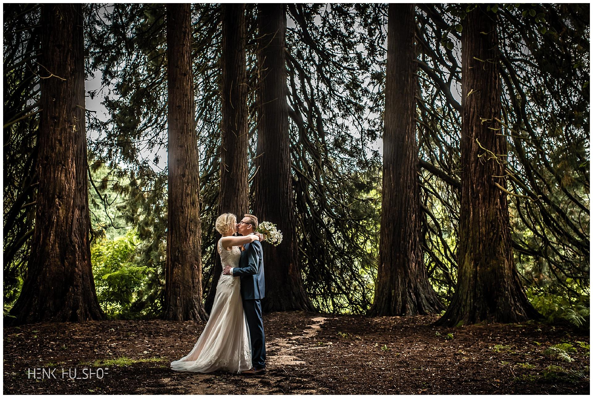 huwelijksfotografie bos
