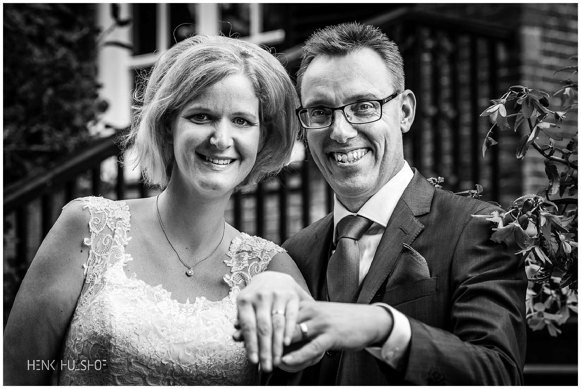 Laurens en Brenda getrouwd